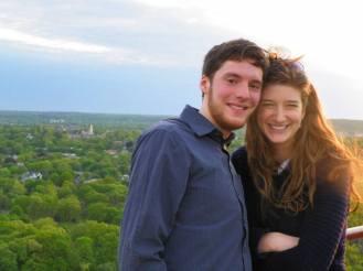 Me and Rebecca