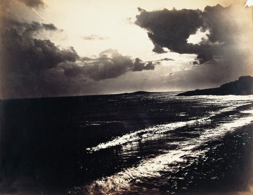 Gustave Le Gray-Large Wave, Mediterranean Sea-1857