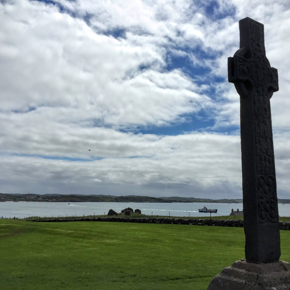 St. Martin's Cross at Iona Abbey