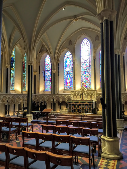 Lady Chapel at St. Patrick's Cathedral in Dublin, Used by Huguenot Refugees